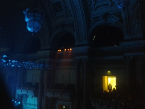 A magnificent, if badly captures, Leeds Town Hall