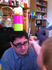 Cups-and-ducks-headgear-for-daddy
