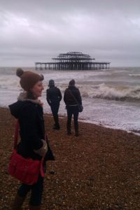 Brighton on one of its' stormier days